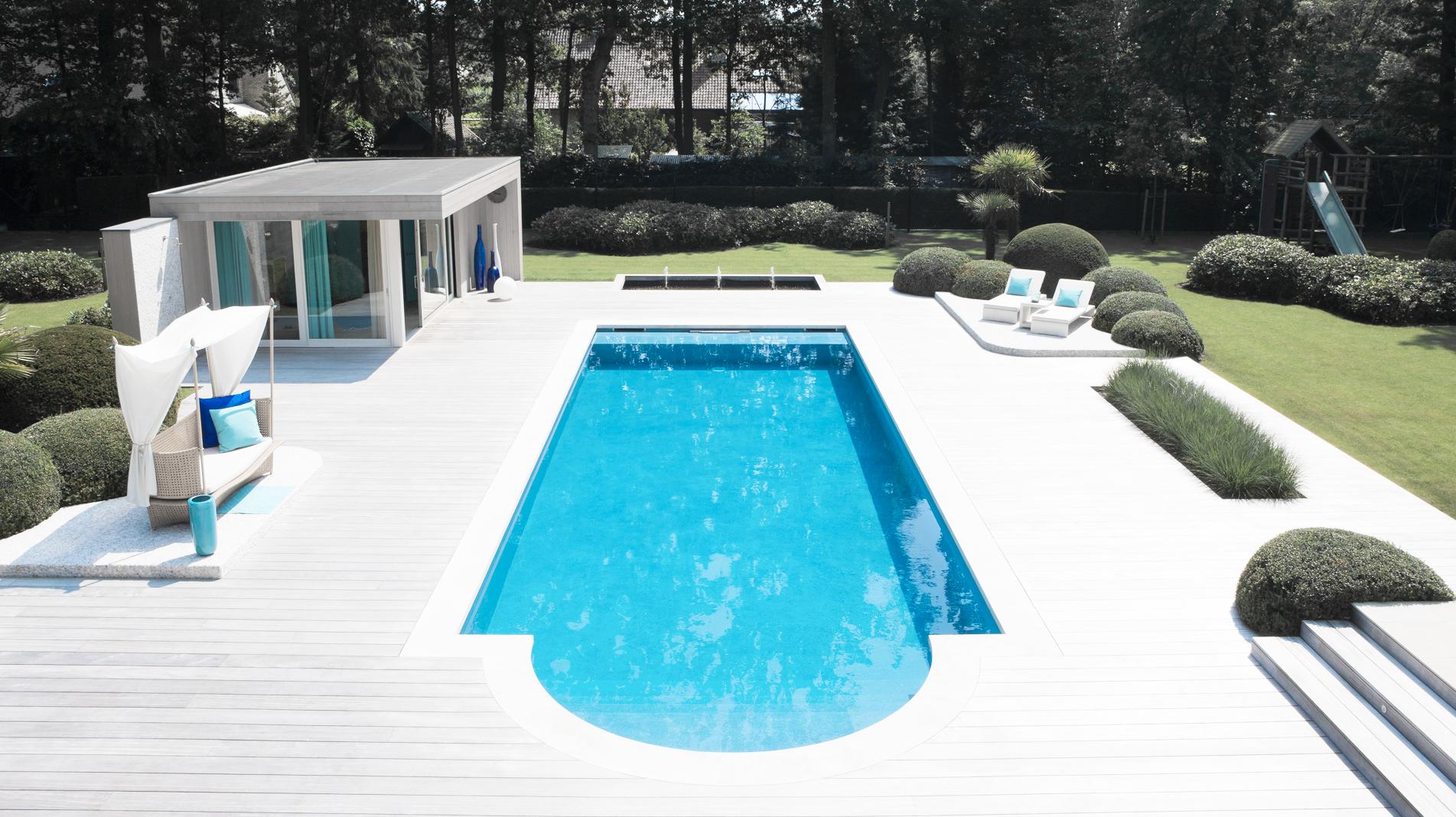 Aanleg van zwembaden